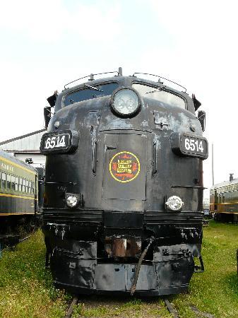 The Alberta Railway Museum: Locomotive