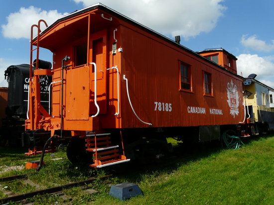 The Alberta Railway Museum