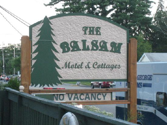 The Balsam Motel & Cottages : The Place to be