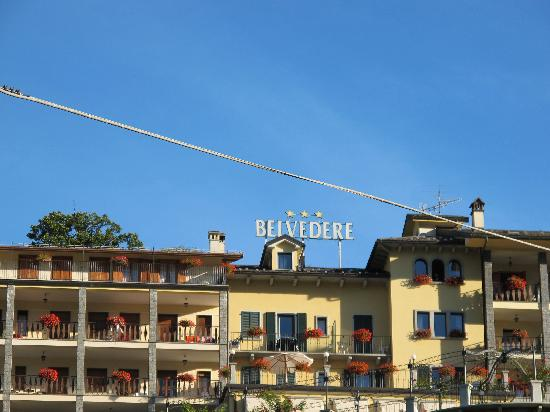 Crodo, Italia: hotel belvedere