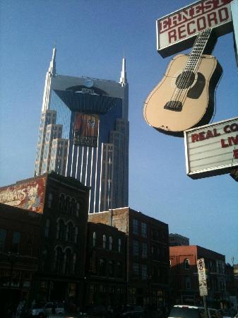 Nashville, TN: Das AT&T Building (auch South Central Bell Building und BellSouth Building, oder Batman Building