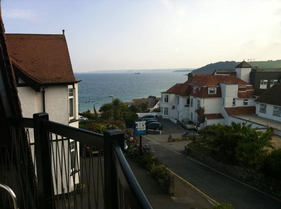 Chellowdene : great view from our balcony