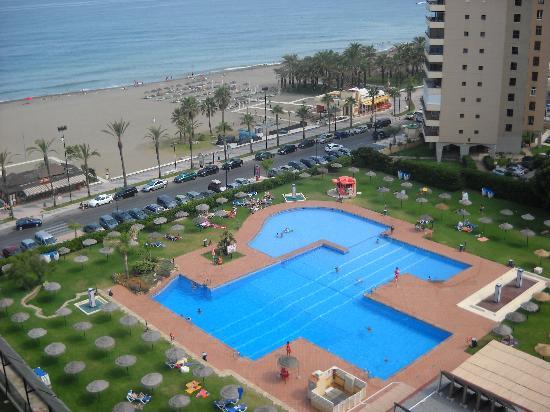 Hotel Sol Principe: Vista desde la habitación.