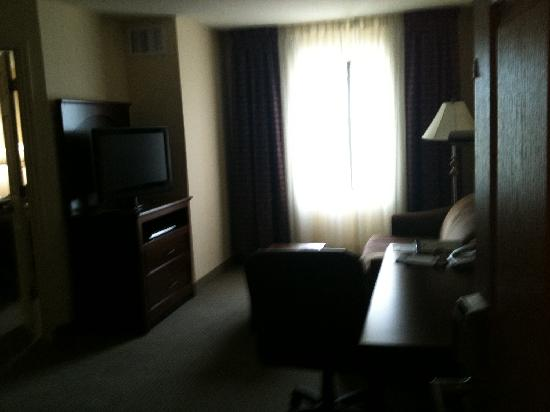 Staybridge Suites West Fort Worth: living area