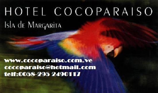 Hotel Coco Paraiso: targeta de presentacion