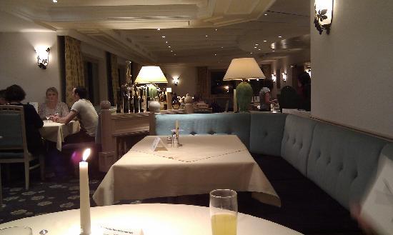 Hotel Erhart restaurant