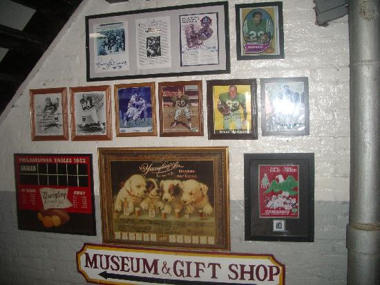D.G. Yuengling and Son Brewery: One of the picture walls