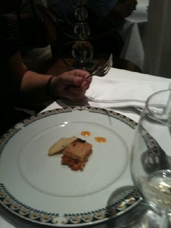 Restaurante Palacio de Eguilior : aperitivo