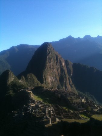 ITEP Eco Travel: The view at the end of the trail - well worth the hard work!