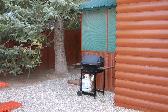 Wagon Wheel RV Campground and Cabins: Outside Cabin #2