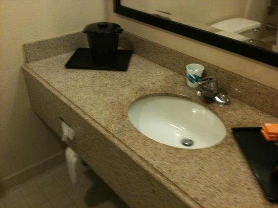 La Quinta Inn & Suites Clifton / Rutherford: Bathroom needs minor upgrades