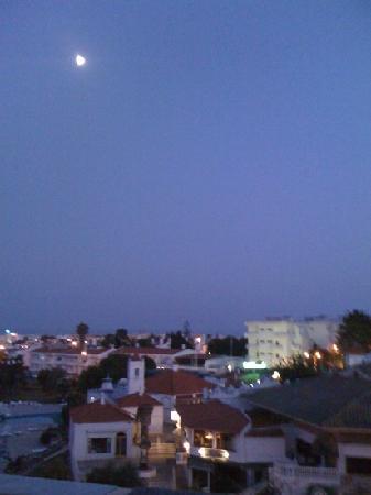 Hotel Mirachoro Albufeira : vue la nuit