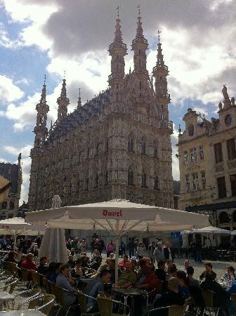 Leuven, België: Town Hall