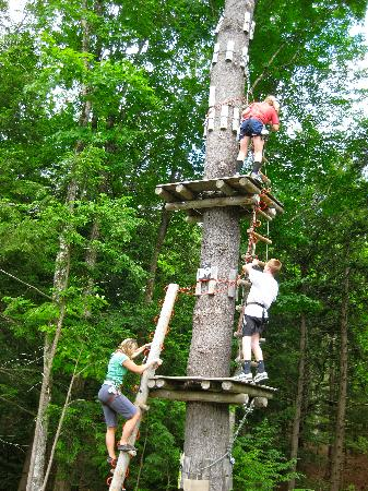 Adirondack Extreme Adventure Course: all in the family