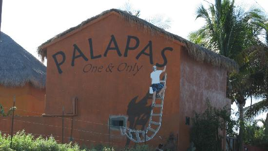Palapas Resort: Palapas   (one & only)