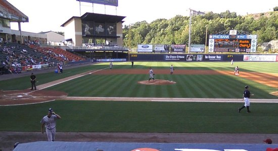 Moosic, PA: Game time at PNC Field.
