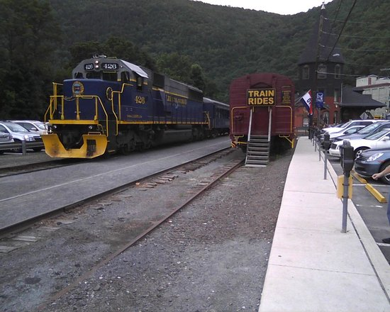 Jim Thorpe station area