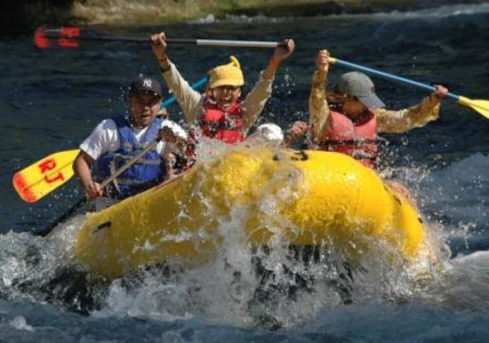 Knights Ferry, Kalifornien: Rafting Fun!