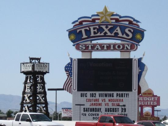 Texas Station Gambling Hall and Hotel: Casino Sign