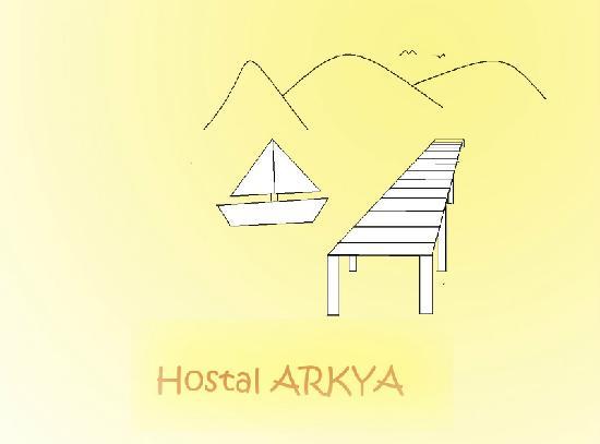Logo Hostal Arkya