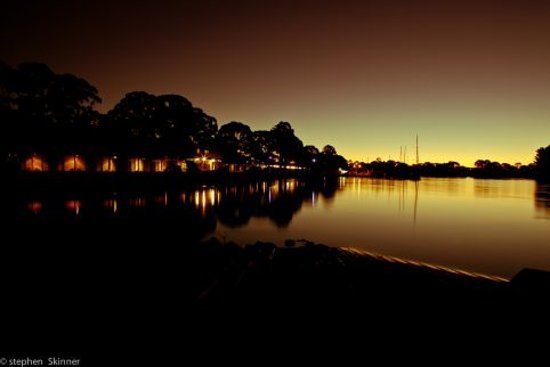 The Waterfront Wynyard: Night Time- Steve Skinner Photography