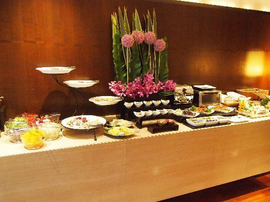 Les Suites Taipei Daan: 朝食は、ブッフェ形式