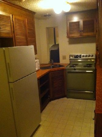 Columbus Motor Inn: kitchenette
