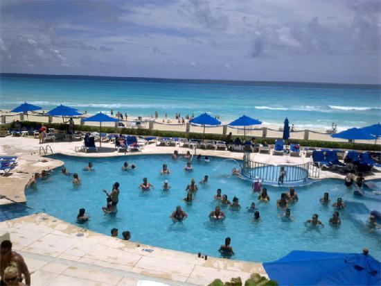 Occidental Tucancun Vista De La Alberca Prinl Del Hotel Barceló Tucancún