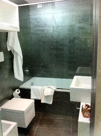 โรงแรมพอยท์อาเรสโซปาร์ค: il bagno