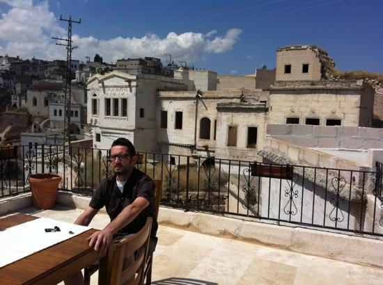 Babayan Evi Cave Boutique Hotel: the amazing terrace