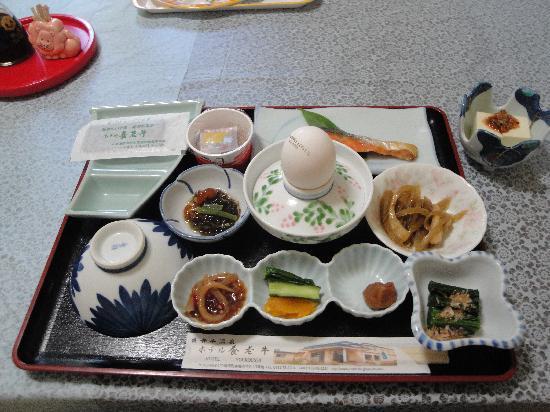 Hotel Yoroushi: 朝食