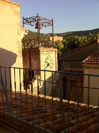 Apt, France: vue du balcon de notre chambre