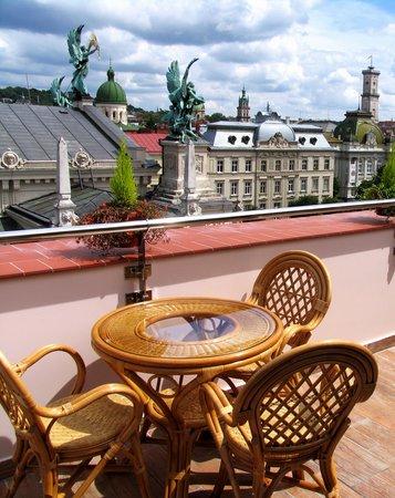 Panorama: terrace