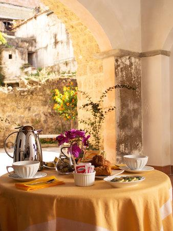 Marigliano, Italy: colazione sulla corte