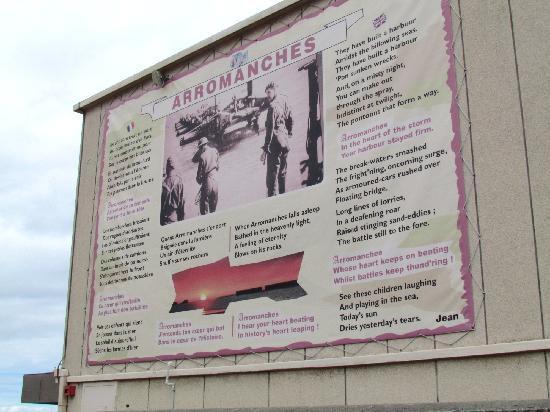 Hotel de la Marine: Sur le mur du musée