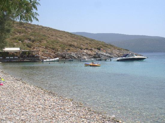 Samos Sun Hotel: Spiaggia di Klima