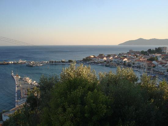 Samos Sun Hotel: Centro di Pythagorio