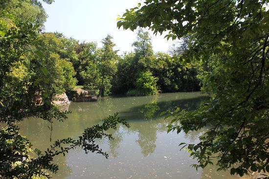 Trattoria Al Parco: Teich hinter dem Al Parco