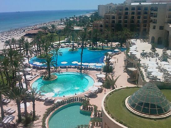 Moevenpick Resort & Marine Spa Sousse: View from room