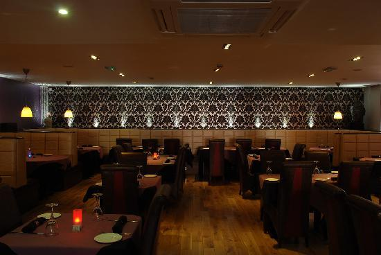 Indigo Restaurant: Back Wall