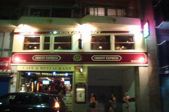 Orient Express Restaurant : from across the road