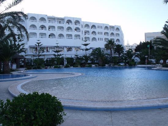 SENTIDO Aziza Beach Golf & Spa: View from the pool