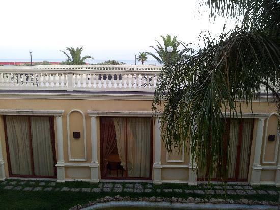 Parco dei Principi Hotel: seaview room