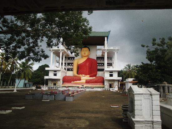 Matara, Sri Lanka: The Giant Buddha Statue.