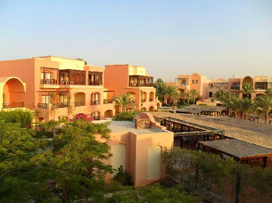 Jaz Makadi Saraya Resort: View at evening