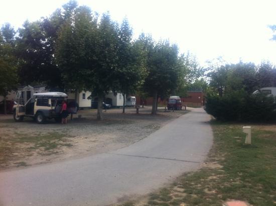 Camping de Rupé : emplacements