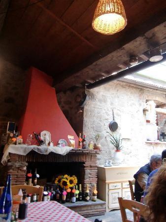 Fattoria di Petrognano: Il camino