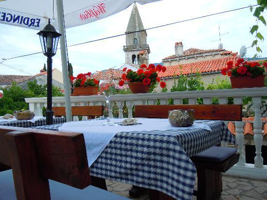Nerezine, Hırvatistan: terrazza belvedere