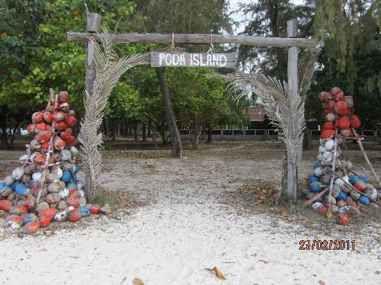 Poda Island Resort: Poda island