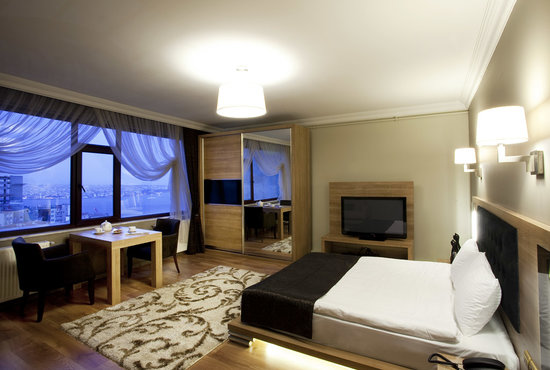 Istanbul Inn Residence: Deluxe Double Sea view